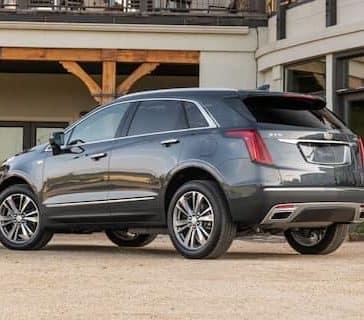 2020 Cadillac XT5 Rear