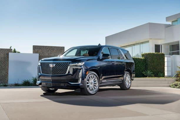 A shot of 2021 Cadillac Escalade