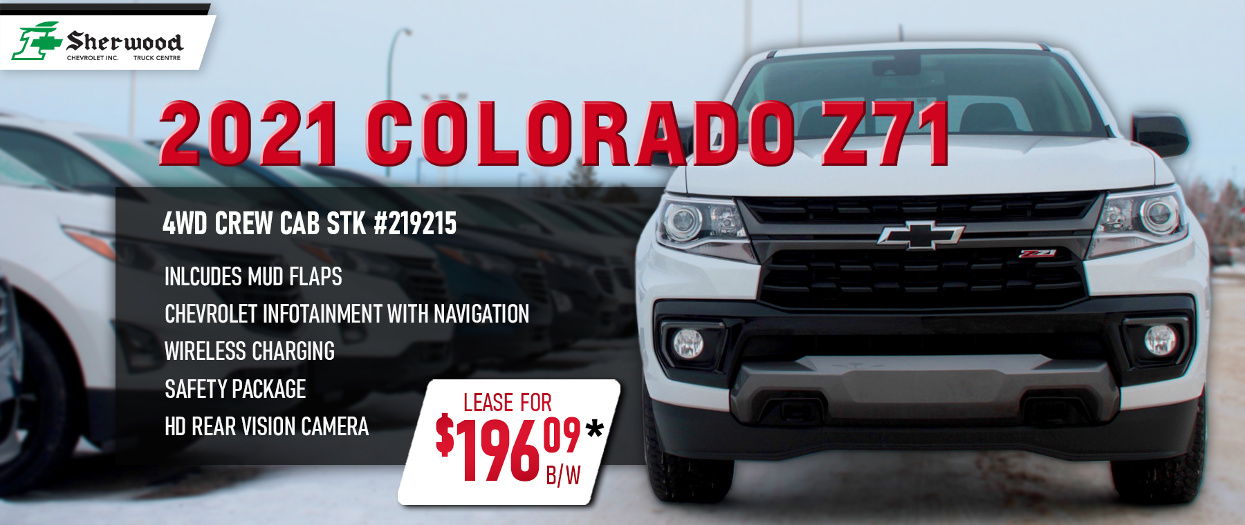 2021 White Chevrolet Colorado