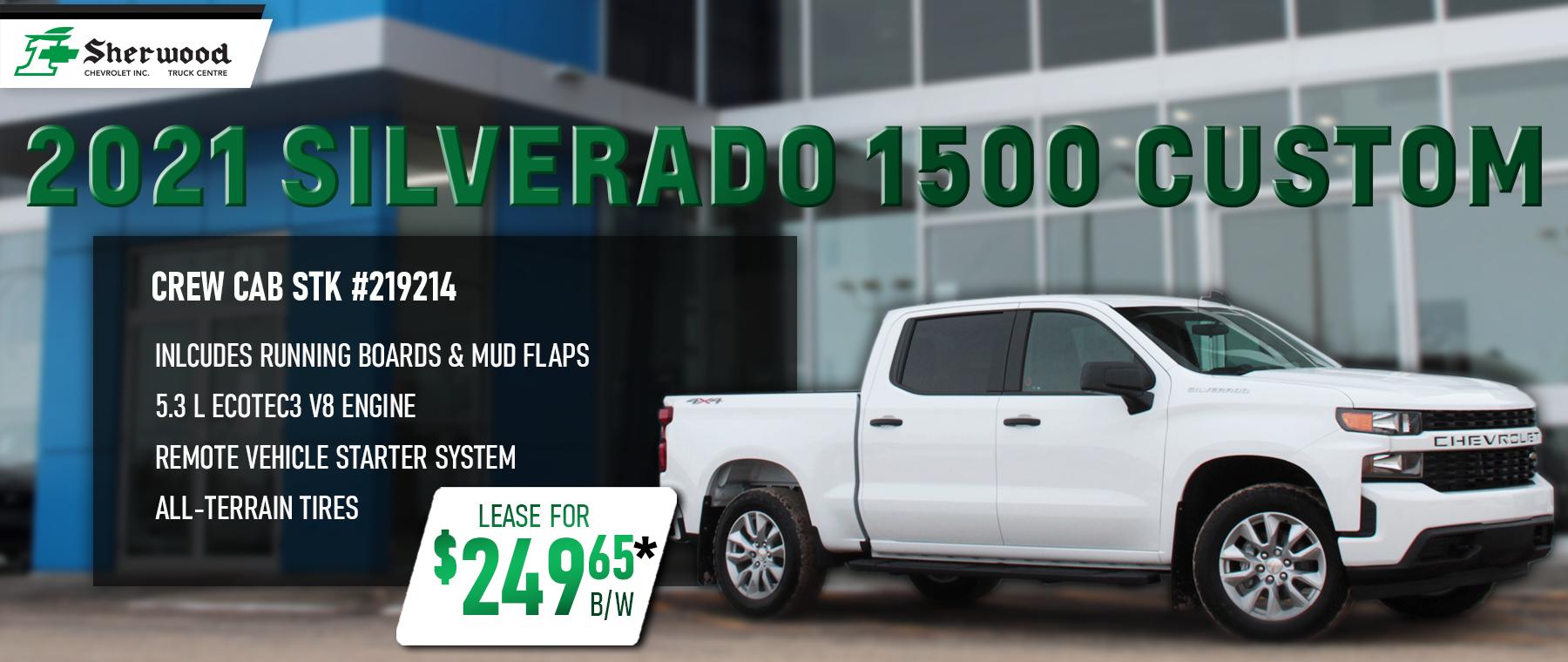 2021 White Chevrolet Silverado 1500