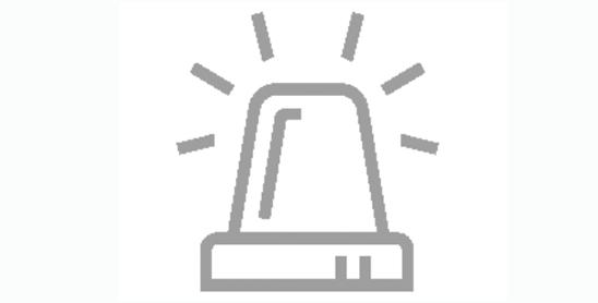 Icon of flashing light beacon