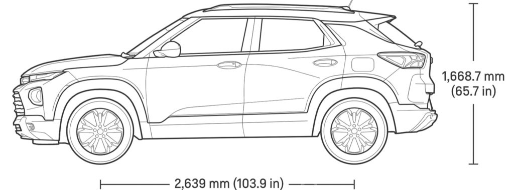 Dimensions of Trailblazer