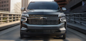 Front grill of Tahoe