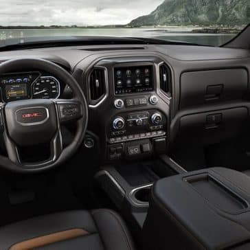 2019-GMC-Sierra-1500-AT4-dashboard
