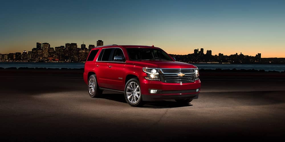 2020 Chevy Tahoe At Dusk CA