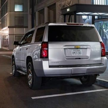 2020 Chevy Tahoe Rear CA