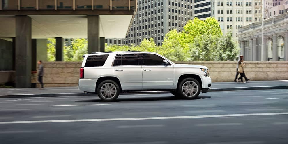 2020 Chevy Tahoe Side View CA