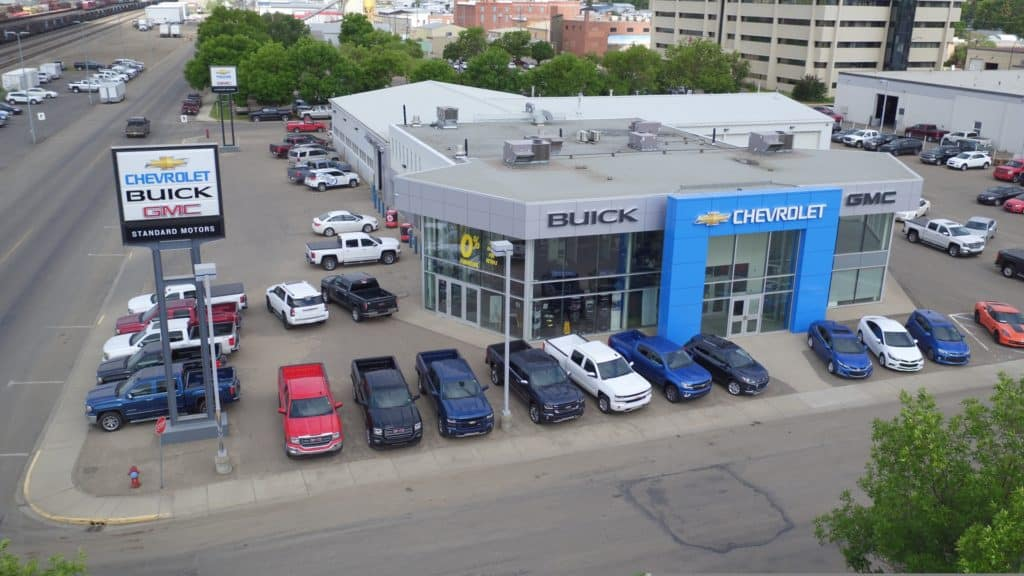 Standard Motors Dealership Exterior