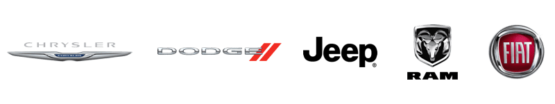 Chrysler Dodge Jeep Ram Fiat logos