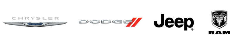 Chrysler Dodge Jeep Ram logos