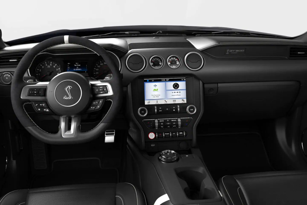 ford mustang shelby interior