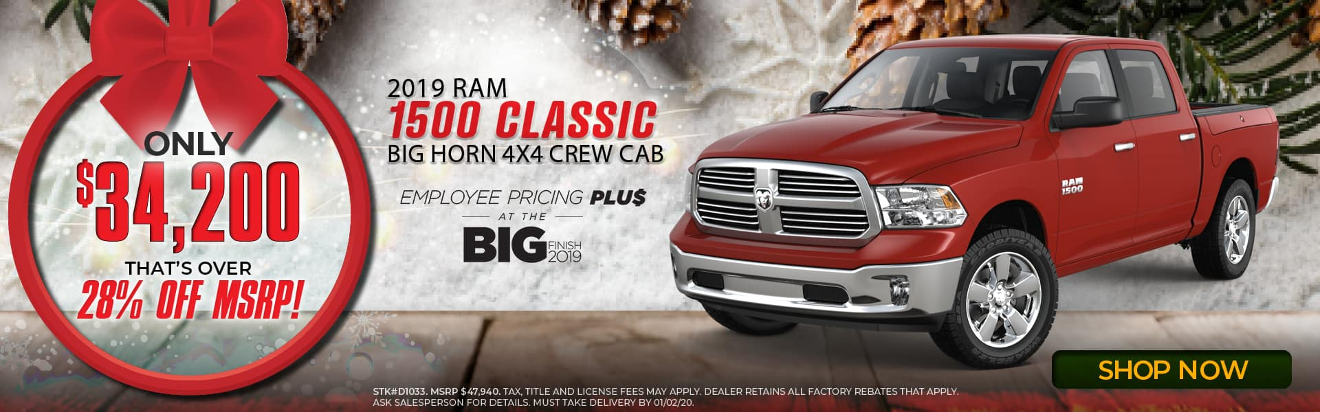 2019 RAM 1500 Classic Express Special in Middlesboro, KY