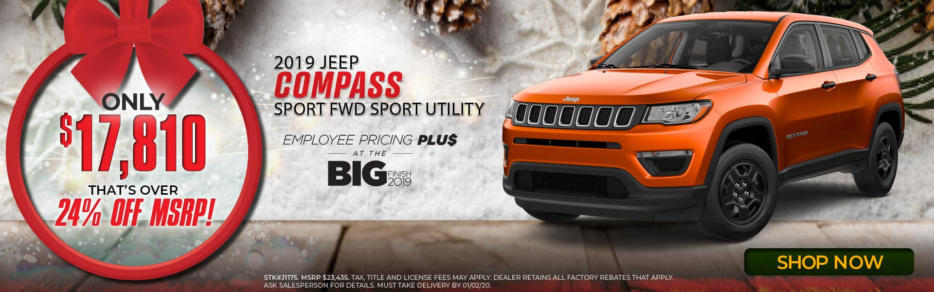 2019 Jeep Compass Special in Middlesboro, KY