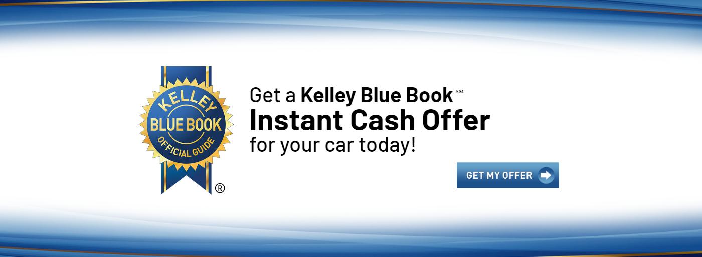 Kelley Blue Book Instant Cash Offer Banner