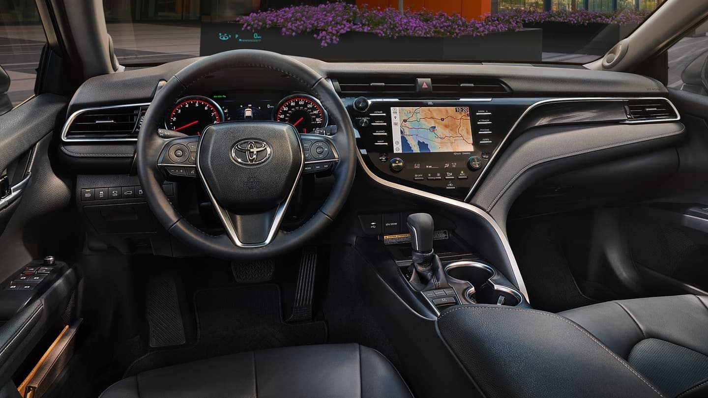2019 Toyota Camry interior technology features and seating