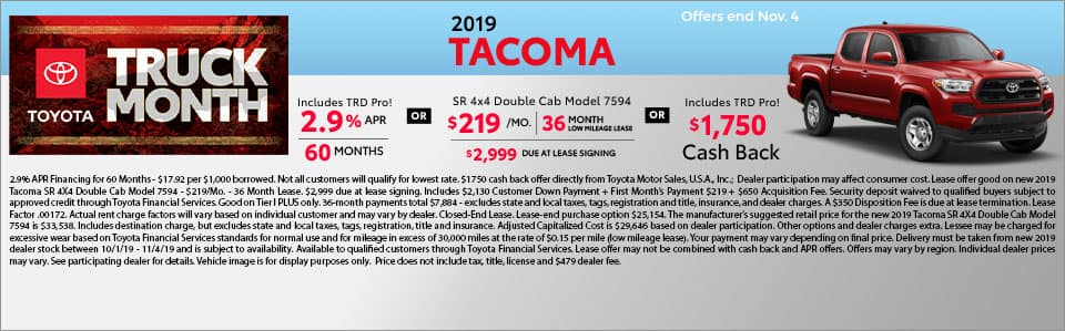 2019 Toyota Tacoma in Richmond, KY