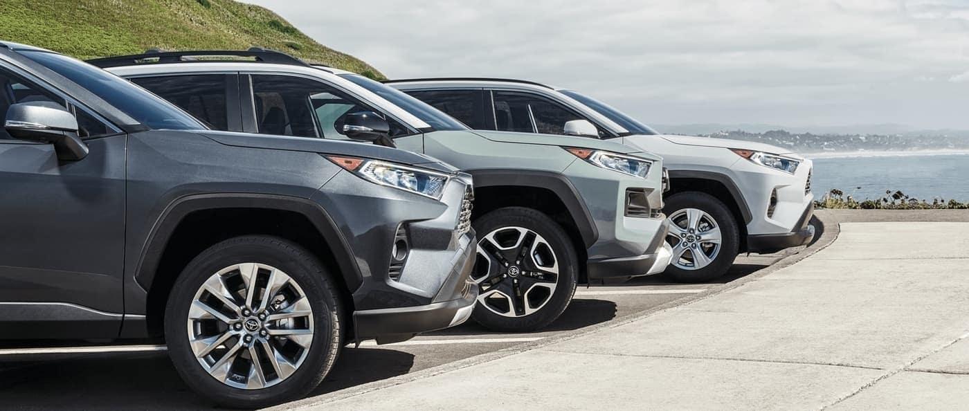 2020 Toyota RAV4 lineup