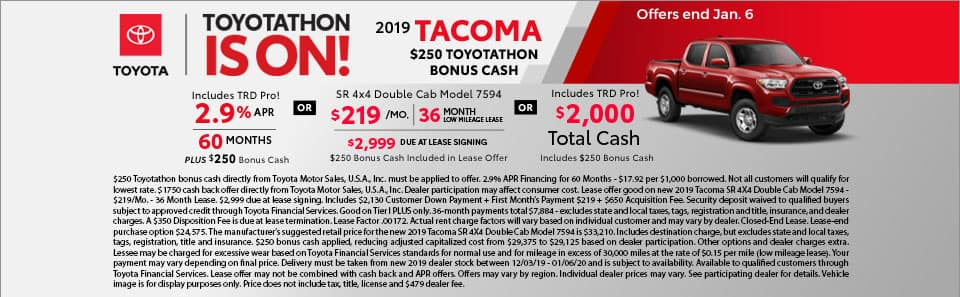 2019 Toyota Tacoma at Toyota South in Richmond, KY