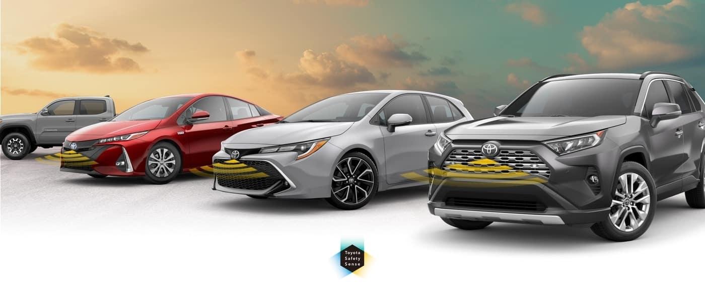 Toyota Safety Sense lineup