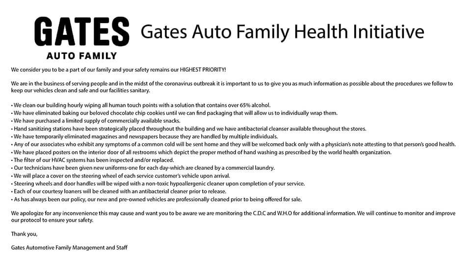 Gates Auto Family Health Initiative