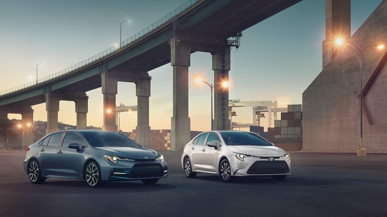2020 Toyota Corolla model lineup