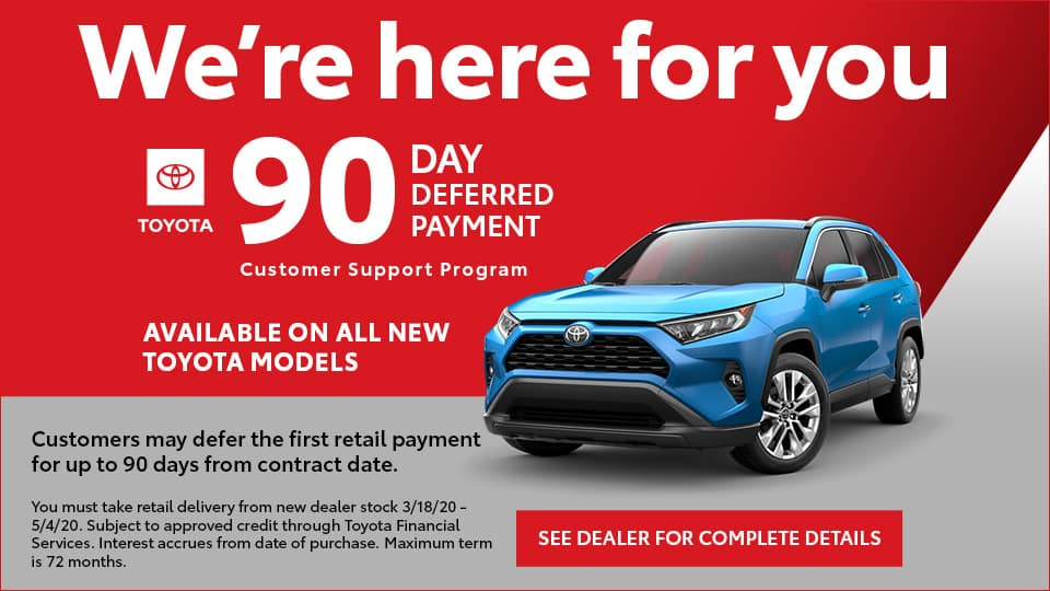 90 Days Deferred Payment
