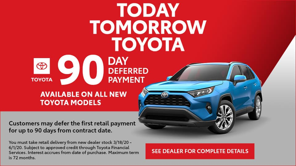 90 Days Deferred Payments