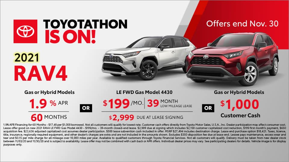 Toyotathon is ON at Toyota South in Richmond!
