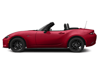 red mx5 miata